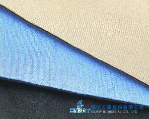 PLUSH FABRIC LAMINATION